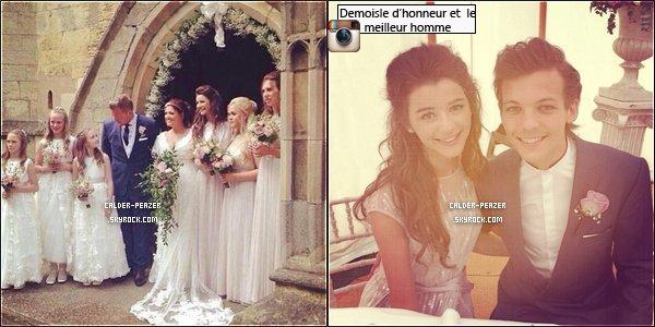 20.09.2014 Eleanor, Louis, ainsi que le reste des One Direction assistant au mariage de la mère de Louis : Jay