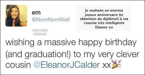 16.09.2014 Jour de l'anniversaire d 'Eleanor !