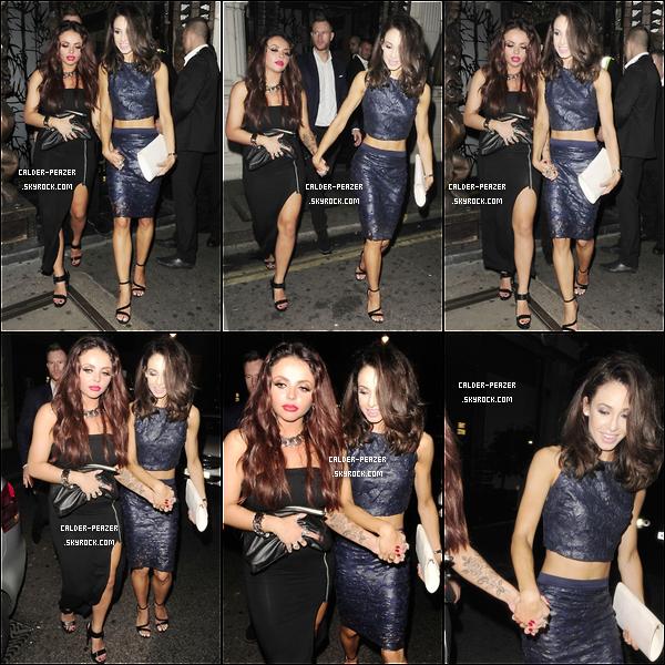 01.08.2014 Danielle et une partie des Little Mix : Jade thirlwall et Jesy Nelson