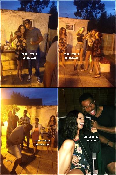 27.07.2014 Danielle a l'anniversaire de son amie  Mikayla Jones à Londres