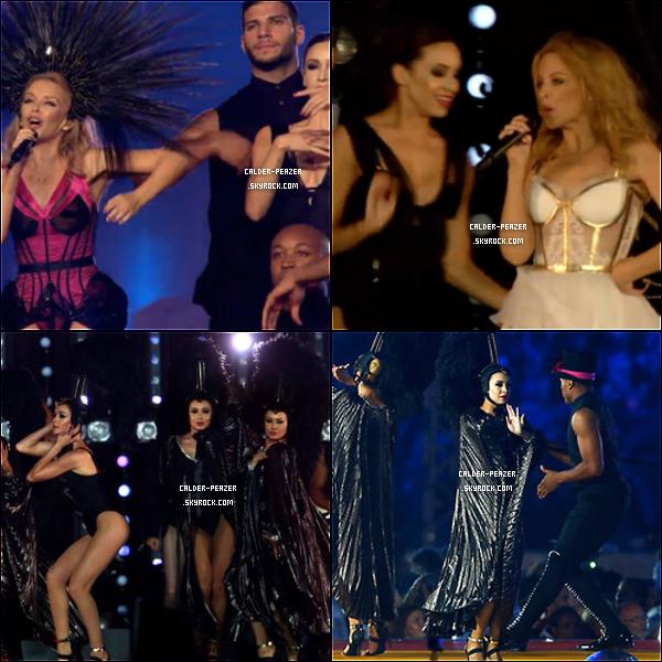 03.08.2014 Danielle dansant pour Kylie Minogue !