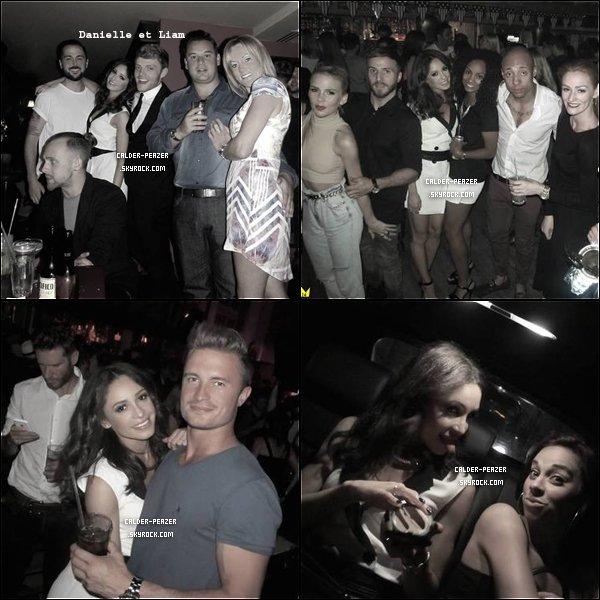 ??.08 ou 09.2014 Danielle a la fête d'anniversaire de son meilleur ami Liam