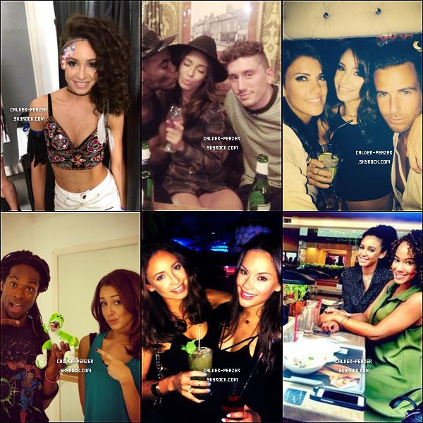 05.08.2014 Nouvelles photos des coulisses du photoshoot de Danielle pour Claire's