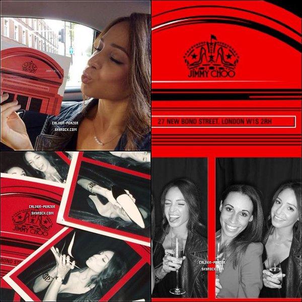 """14.09.2014 Danielle et sa soeur Sarah a l'ouverture du magasin """"Jimmy Choo"""" à la """"New Bond Stree"""" à Londres"""