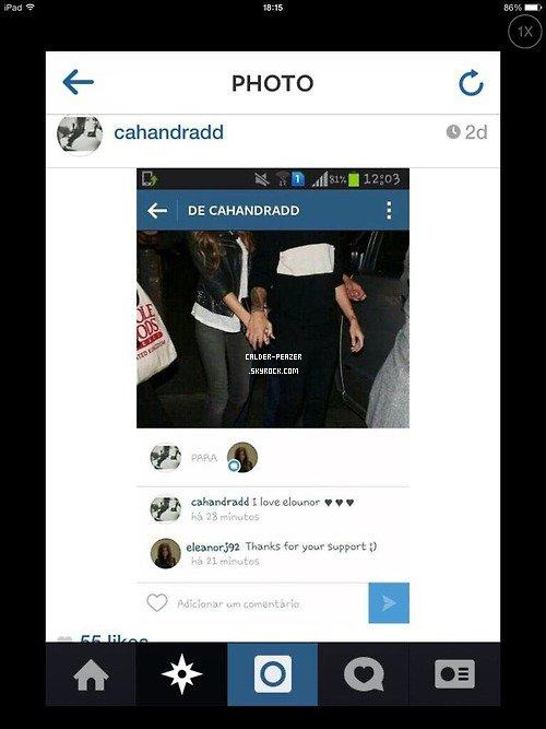 06.09.2014 Eleanor et Louis quittant la soirée d'anniversaire de Niall qui se déroulait au « Shoreditch House » à Londres.