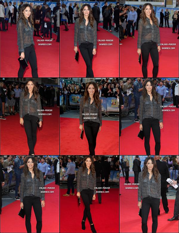 22.09.2014 Danielle a l'avant première de 'What We Did On Our Holiday' à l'Odeon West End à London