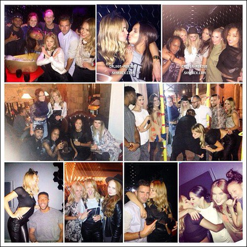 30.09.2014 Danielle en soirée avec des amie