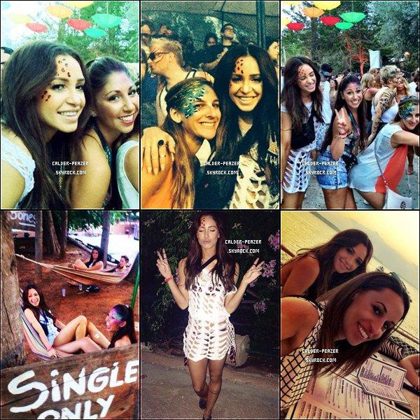 Du 24 au 29 Septembre 2014 Voyage de Danielle à Ibiza accompagné de sa soeur et de ses amies