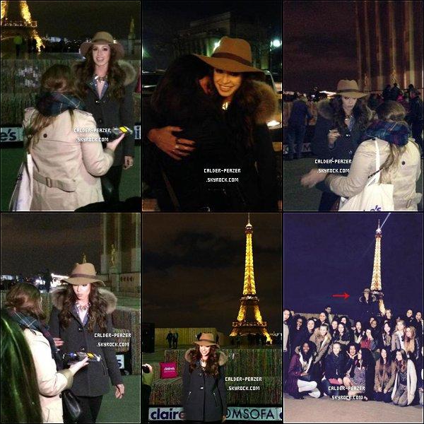 05.11.2014 Danielle à Paris ! Partie 2