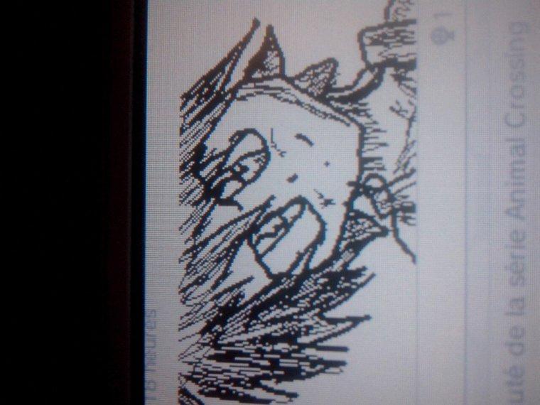 Quand je dessine sur la 3ds
