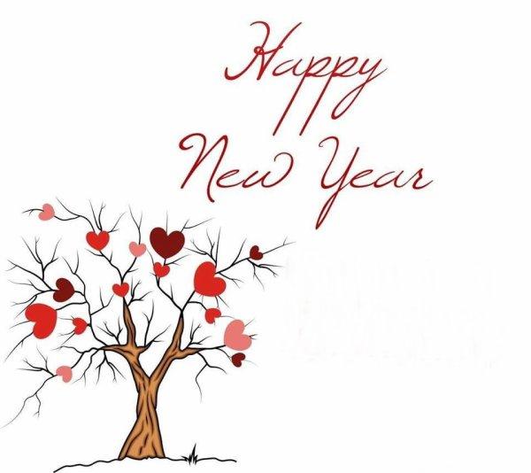 Bonne année à  vous tous, bisous
