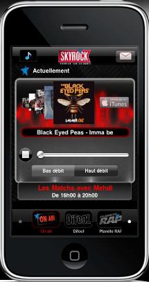 MOBILE : Écoute Skyrock en live sur ton iPhone ou ton iPod !
