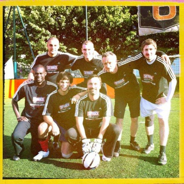 [MISE A JOUR] TOURNOI DE FOOT : prestation héroïque de l'équipe Skyrock !