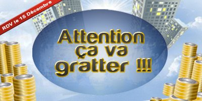Attention ça va gratter !!!