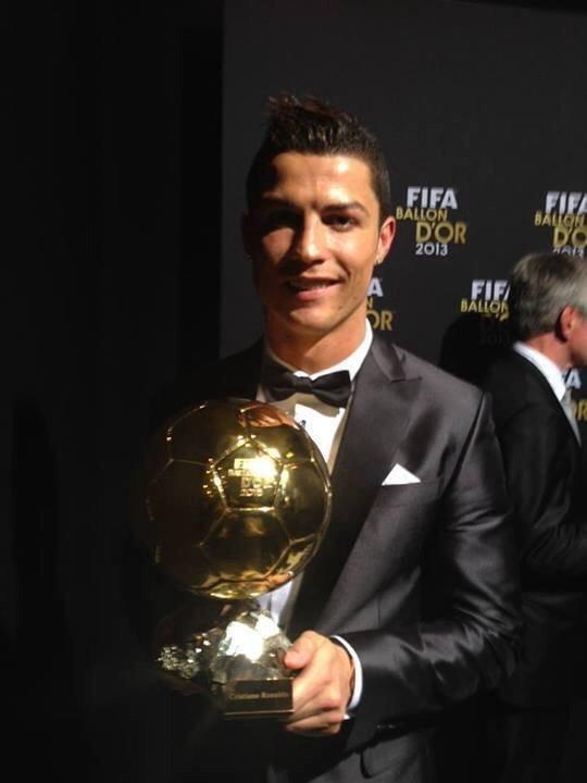 Cristiano Ronaldo, ballon d'or 2013