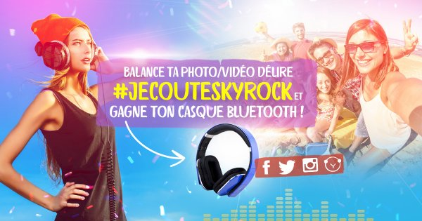 Concours #JECOUTESKYROCK