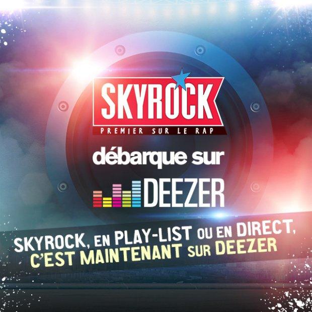 Skyrock débarque sur Deezer !