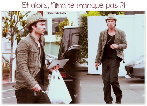 >> ADDICTPLEASURE.skyrock.com NEWS IAN SOMERHALDER Création • Décoration • GettinStarbuck