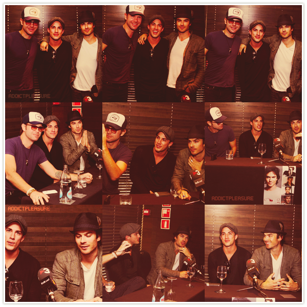 >> ADDICTPLEASURE.skyrock.com NEWS IAN & co-star at Bloody Night Con Création • Décoration • GettinStarbuck