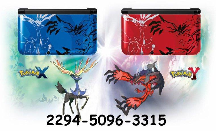 Pokemon Y 3DS XL