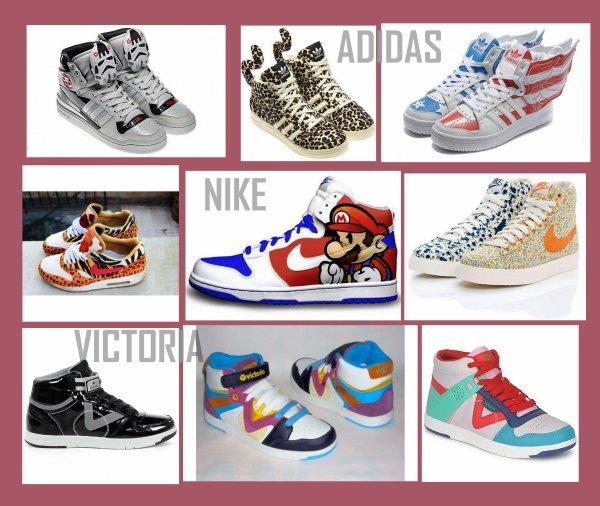 Nike,Adidas,Victoria