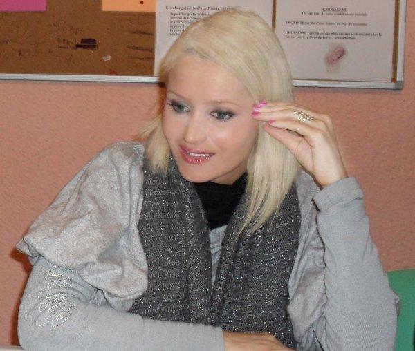 Tatiana-Laurens à la Maison des Jeunes (Aubière 63) le 29.01.2011
