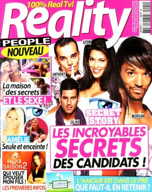 "Tatiana-Laurens et Xavier DELARUE in ""Reality People ""  Mag"