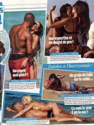 Tatiana-Laurens et Xavier DELARUE Ultra sexe sur la plage !!!!!     Public (Aout 2011)