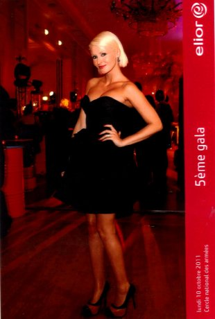 "Tatiana-Laurens in 5ème Gala ""Cercle National Des Armées"" ( le 10 Octobre 2011)."