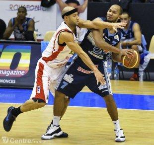Xavier DELARUE in Clermont against Le Puy le 27-01-2012