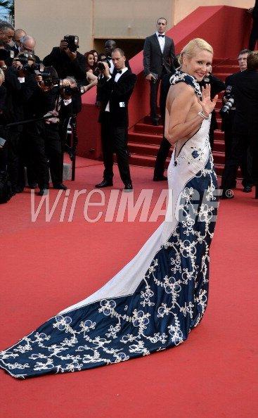 Cannes 2012 : Tatiana Laurens ravie de monter les marches !