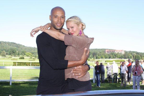 Tatiana-Laurens et Xavier DELARUE au Festi'Vittel 2012
