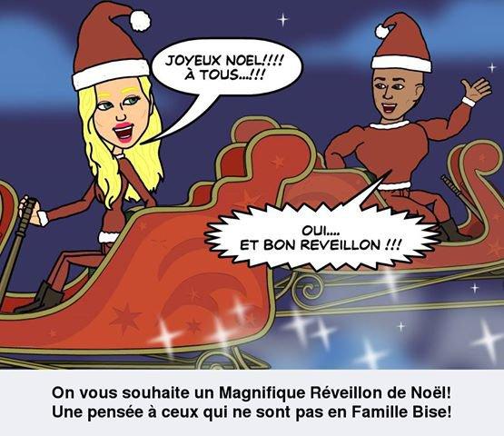 @TatianaLaurens et @xavierdelarue vous souaite un Joyeux Noel !!!