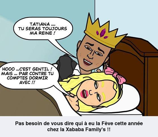 Tatiana-Laurens et  Xavier Delarue !!! (Galette des Rois)