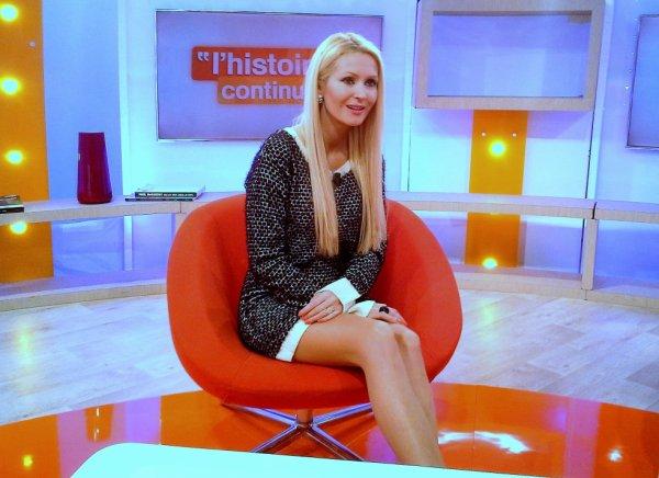 Tatiana-Laurens & Xavier DELARUE dans Toute Une Histoire le 04 Mars 2014