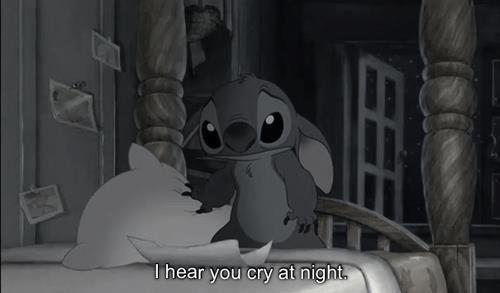 I hear you cry tonight..