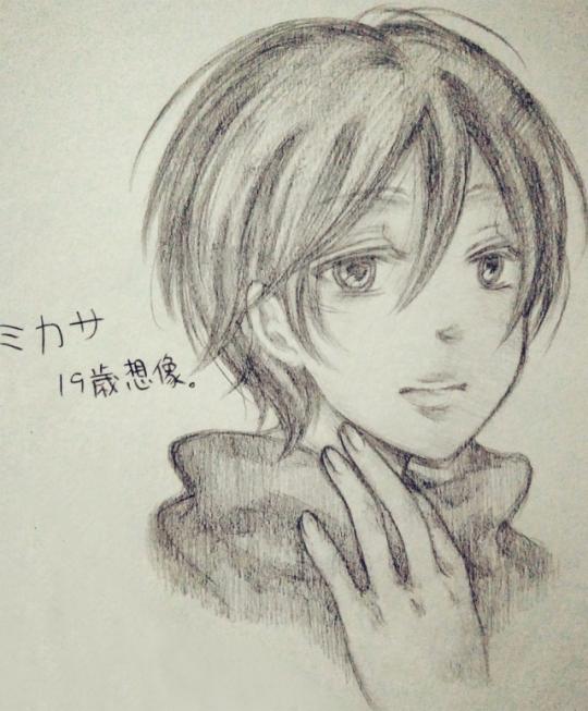 Elle serait pas dég' Mikasa comme ça