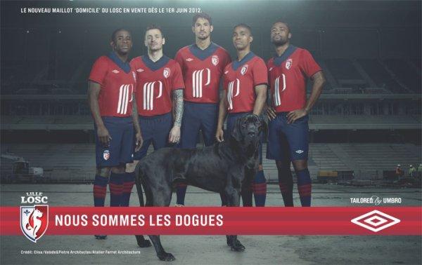 Maillots Saison 2012 - 2013