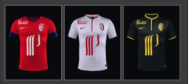 Maillots Saison 2013 - 2014