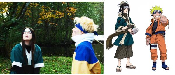 Projet Photoshoot Cosplay Haku + Duo Naruto