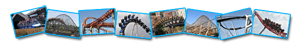 Le parc d'attraction et de loisirs : PARQUE DE ATRACCIONES MADRID !!