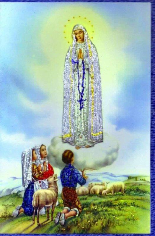 CONSÉCRATION À MARIE POUR TOUTES LES FAMILLES DE LA TERRE