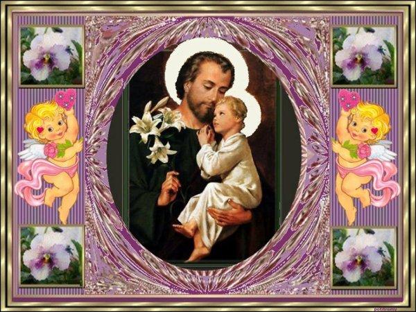 C'est la prière de glorification de St Joseph