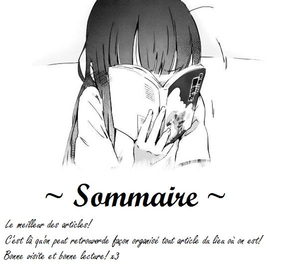 Sommaire : LES ECRITS!!