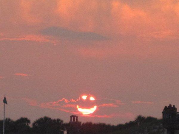 lorsque le ciel vous fait un sourire