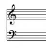 Du papier musique prêt à imprimer