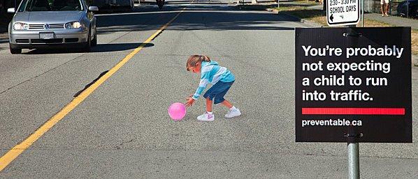 Une illusion d'optique 3D pour faire ralentir les automobilistes