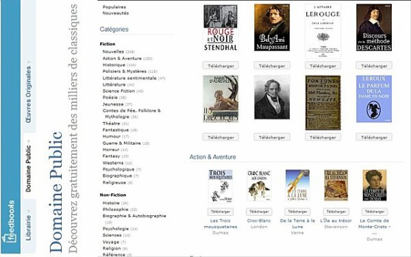 Littérature: E-BOOK à telecharger gratuitement au format .epub & PDF.