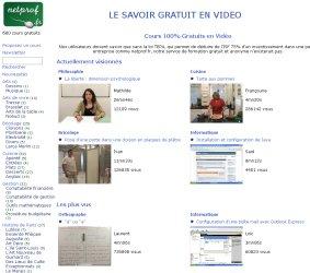 Cours et Formations Gratuits en Vidéo | netprof.fr