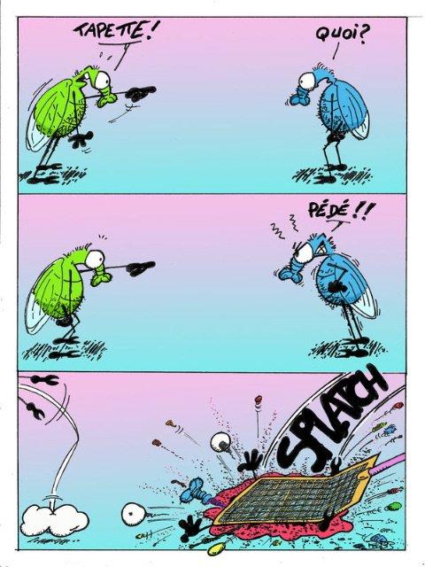 Humour en images : Histoire de moustiques (BD)